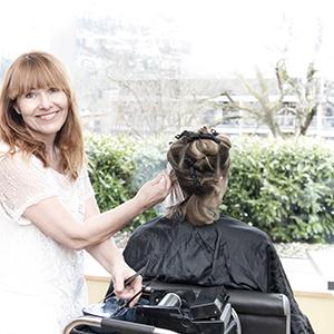 Andrea Säly, Inhaberin von Kolibri Creativ Hairstyling